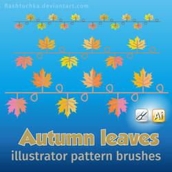 Autumn Leaves Illustrator brushes
