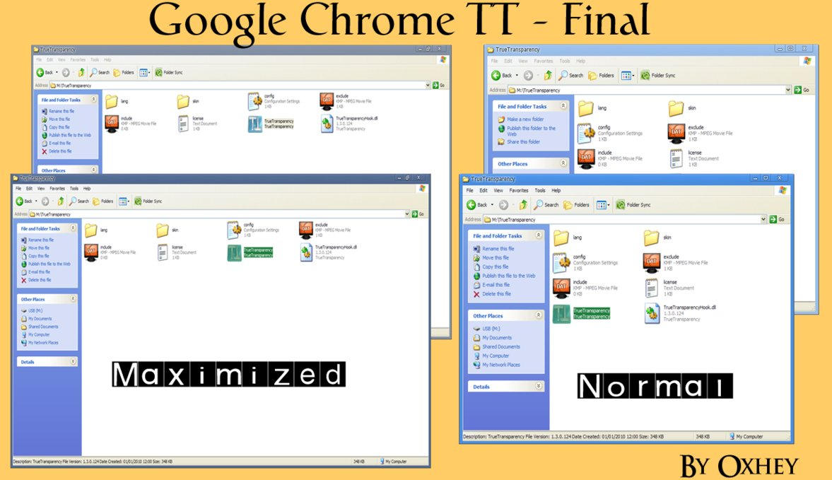 Google Chrome  for Border Skin by komalo
