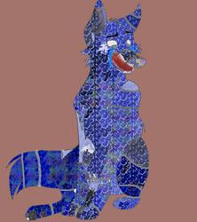 FNAF OC Blue Adopt 1 by HowlingWolfGamer