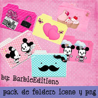 pack de folders by BarbieEditionsYT