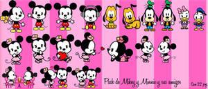 Pack de Mikey  Minnie y sus amigos by BarbieEditionsYT