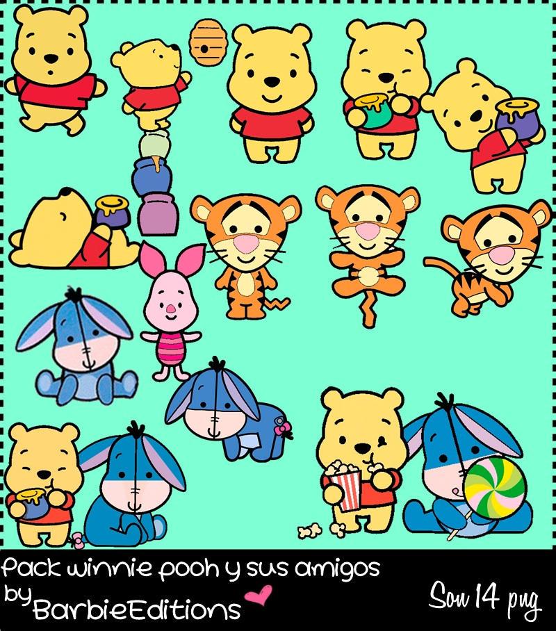 Pack de winnie pooh y sus amigos by BarbieEditionsYT
