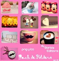 Pack de Folders en png y ico by BarbieEditionsYT