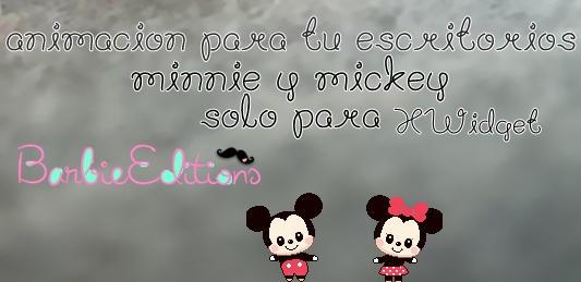 Minnie y mickey animacion para el escritorio by for Imagenes de animacion