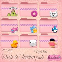 Folders Pink by BarbieEditionsYT