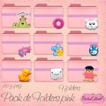 Folders Pink