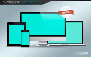 :: Showcase Mockup PSD Template :: by DigitalConnection