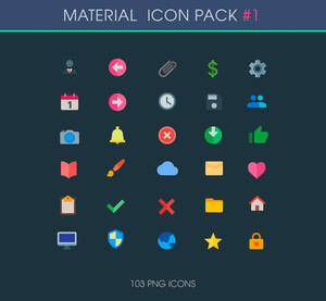 .: General - Material Icons :.