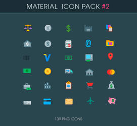 .: Accounting - Material icons :.