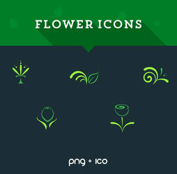 .: Flower Icons :.