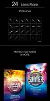 .: Lens Flare - Brushes :.