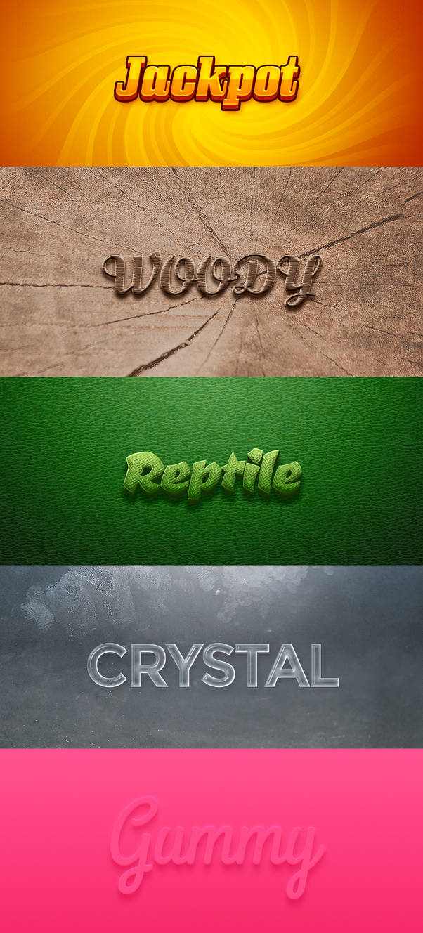 .: Text Effect Pack1 :.