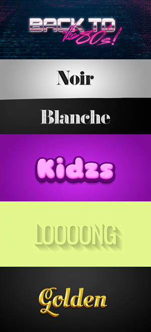.: Text Effect Pack2 :.