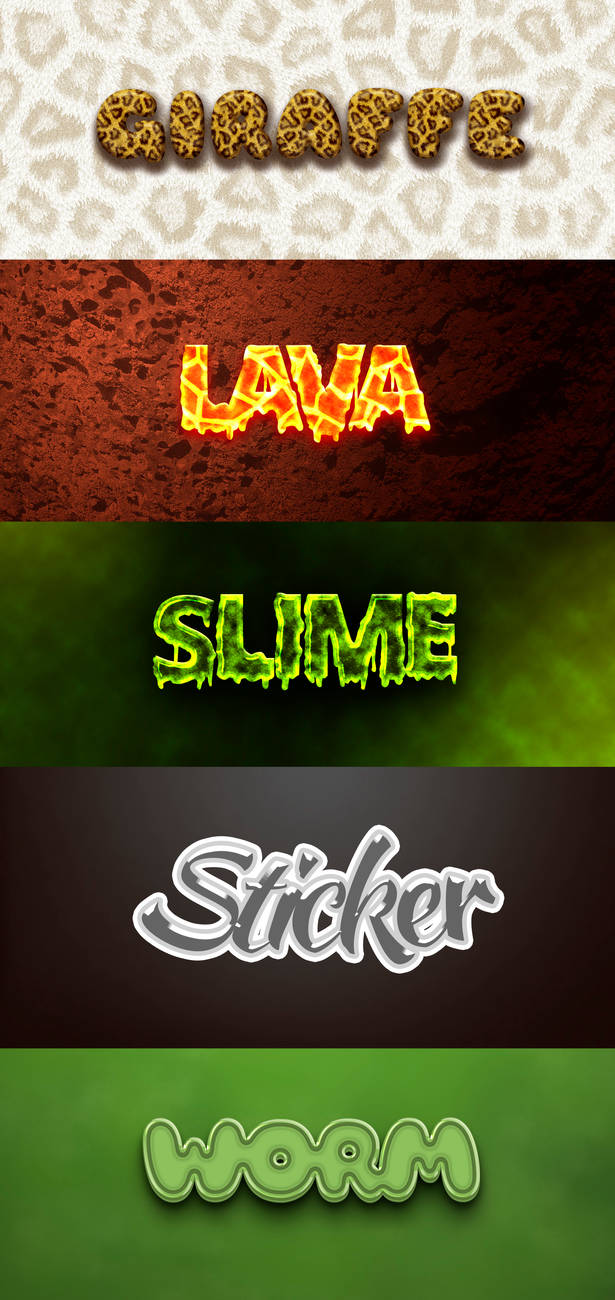 Text Effect Pack3