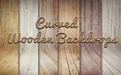 Curved Wooden Backdrops