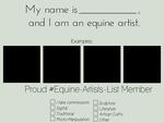 EAL - Equine Artist Template