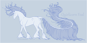 Quirlicorn Foal Lines
