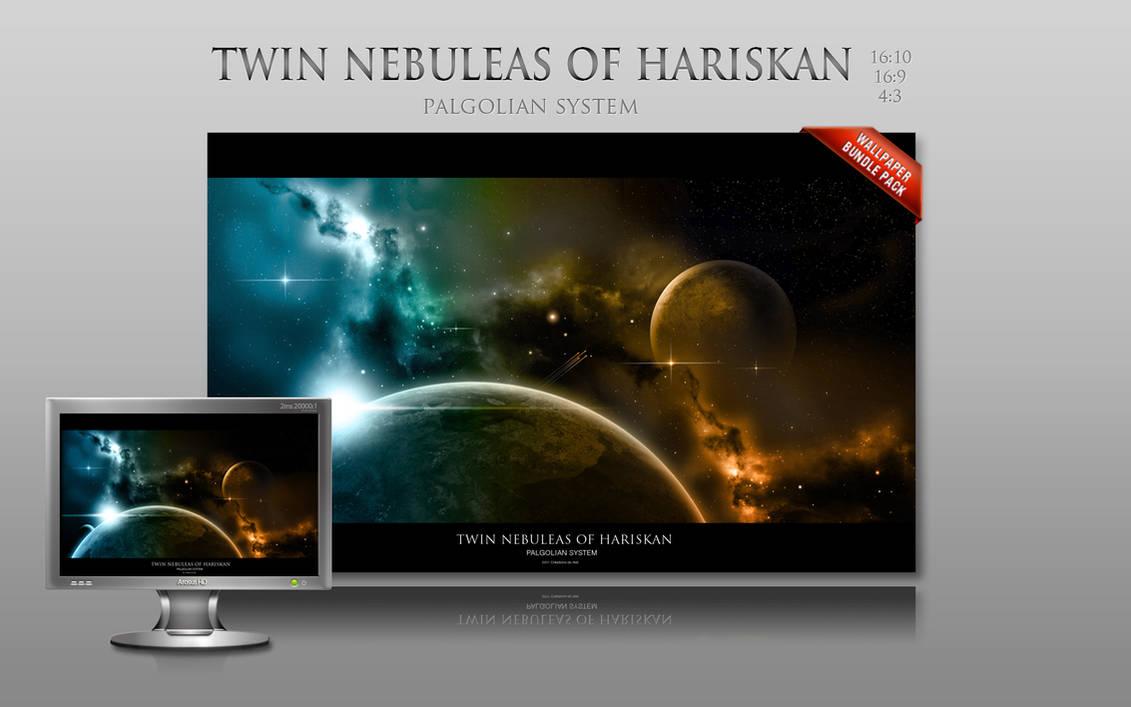 Twin nebuleas of Hariskan