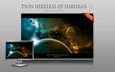 Twin nebuleas of Hariskan by milo13200