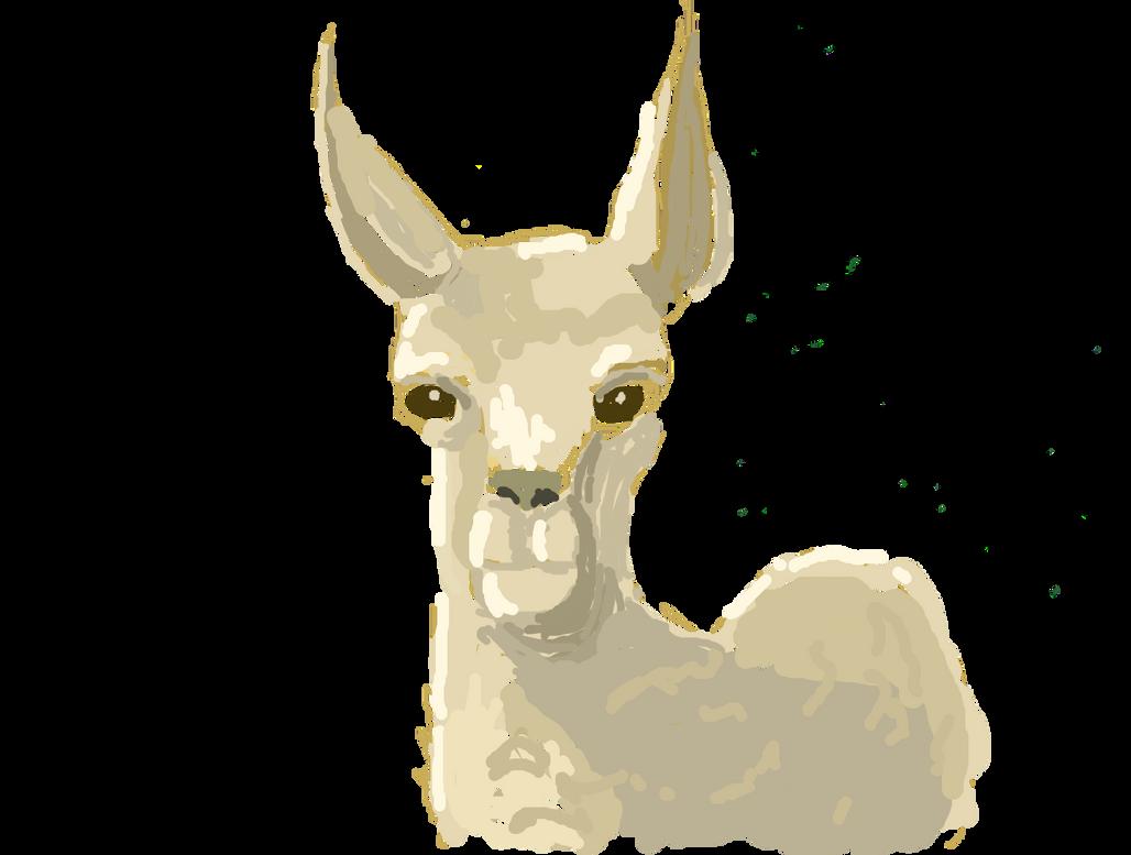 Procrastination Llama by ElzieA19