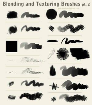 Blending and Texturing Brushes pt. 2