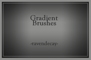 Gradient Brushes by ravendecay