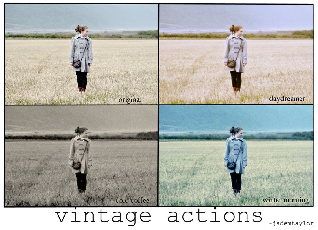 vintage actions by jademtaylor