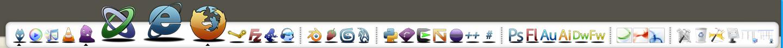RocketDock Glossy Icons