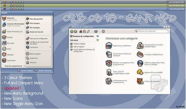 OpusOS 1.5 - GANT Mod