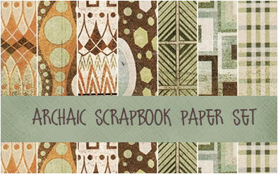 Archaic Scrapboock set by neodios