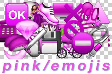 Pink Emojis Pack