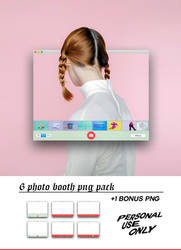 Photo Booth Png Pack by louann1812