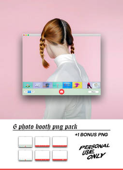 Photo Booth Png Pack