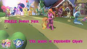 Finale Ponies Pack (SFM GMOD DL-UPDATED again)