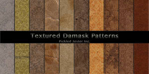 Textured Damask Patterns