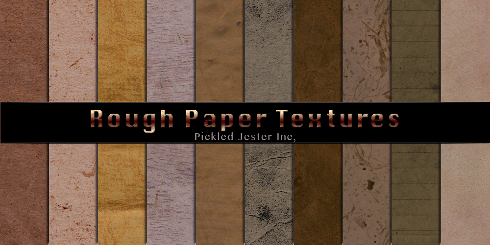 Rough Paper Patterns