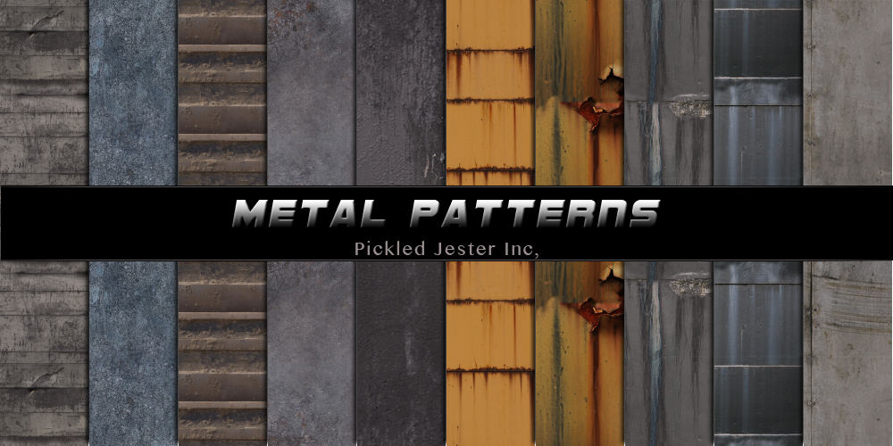 Metal Patterns by Pickled-Jester-Inc