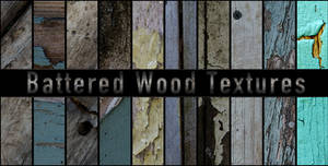 Battered Wood Textures