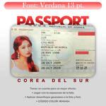 PASSPORT COREA PSD