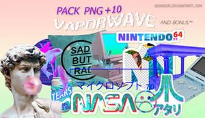 Pack PNG ~ V a p o r w a v e