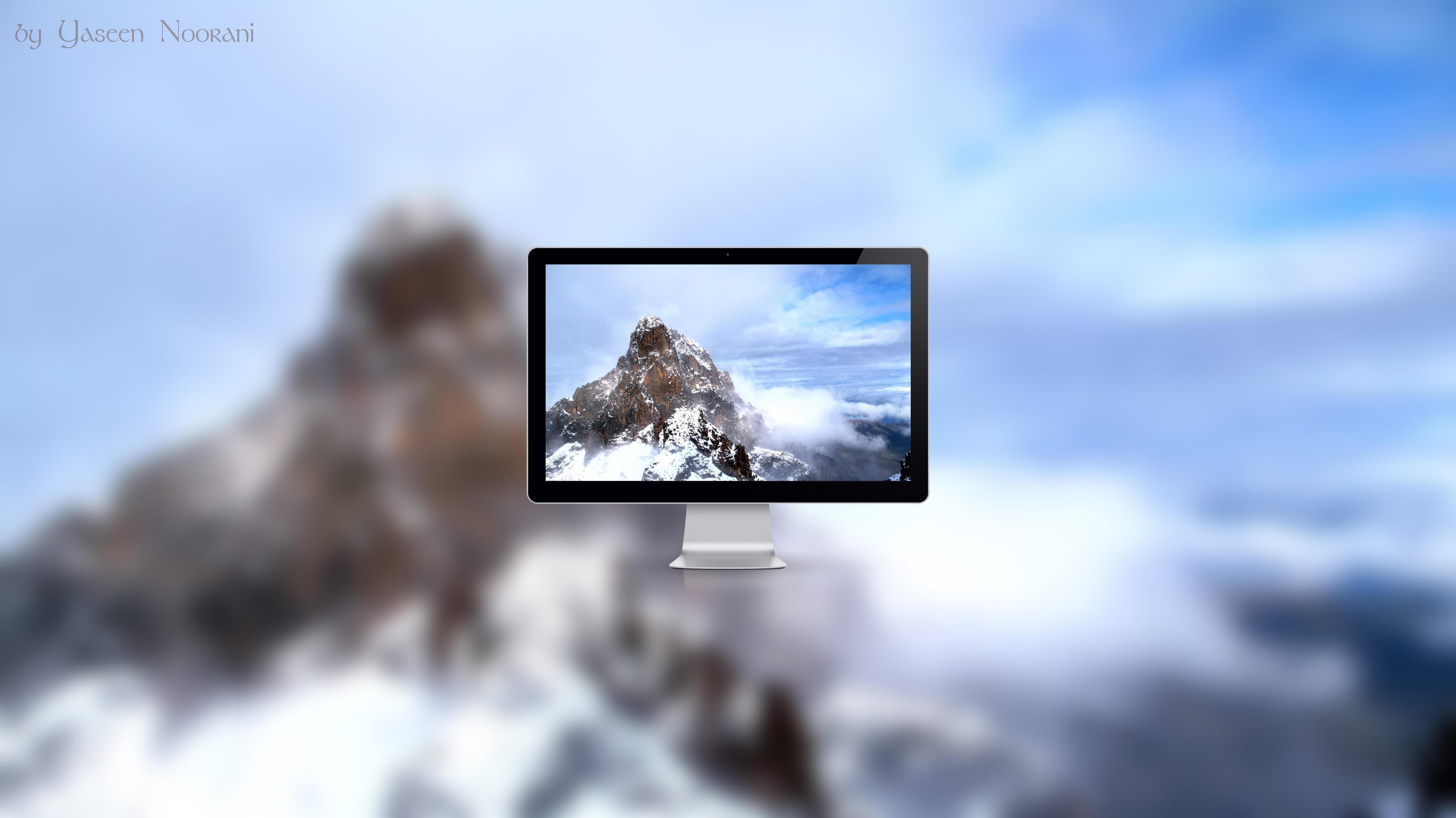 Snowy Peak by YaseenNoorani