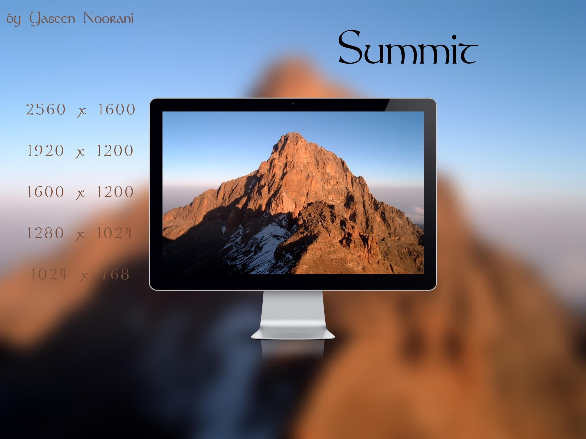 Summit II by YaseenNoorani