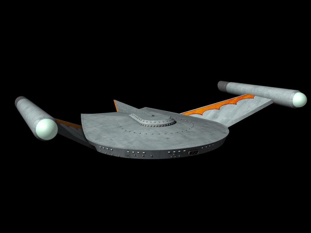 Romulan Bird of Prey by metlesitsfleetyards