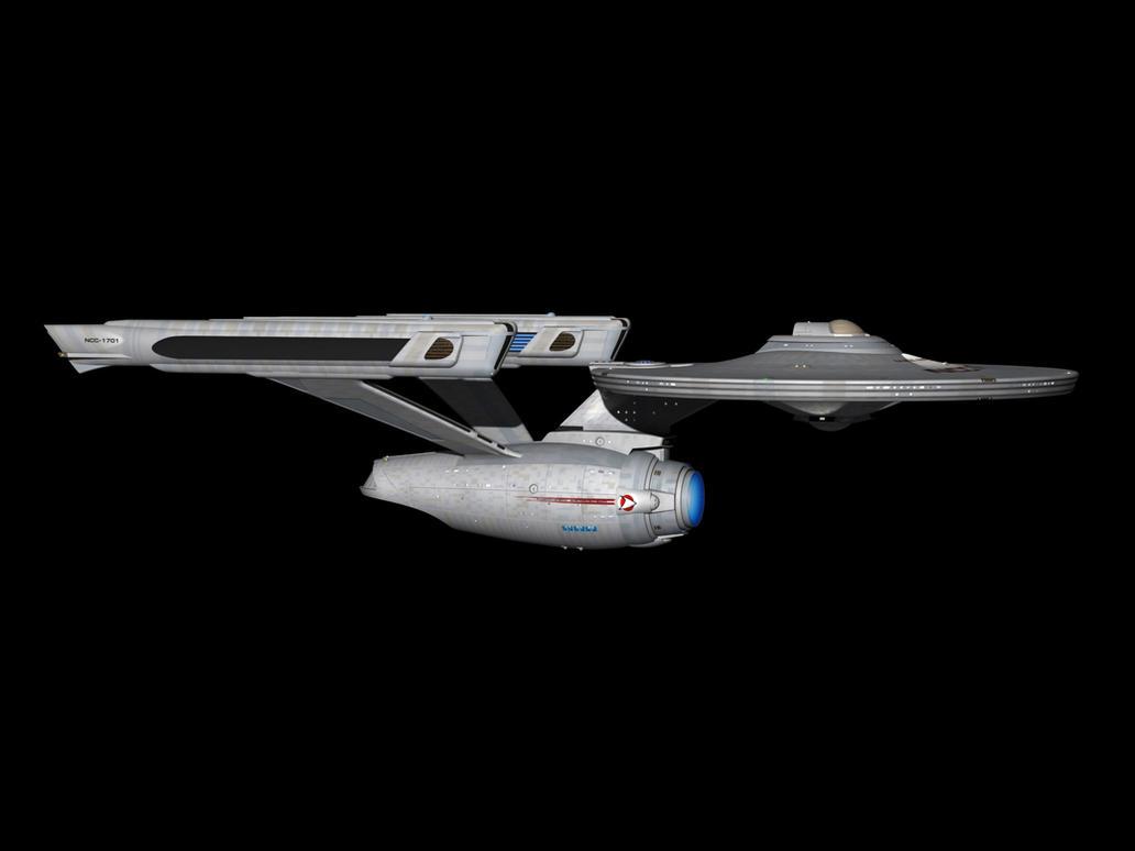USS Enterprise Refit by metlesitsfleetyards