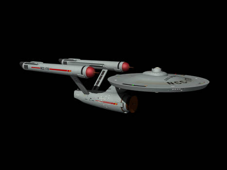 USS Enterprise - Pilot version