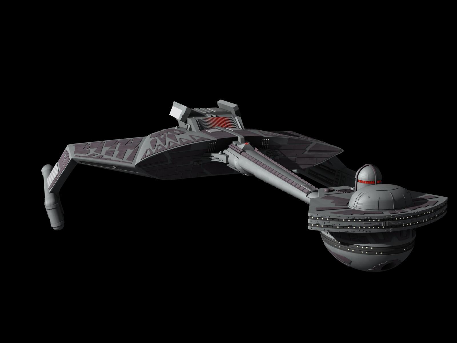Klingon K't'inga class cruiser by metlesitsfleetyards