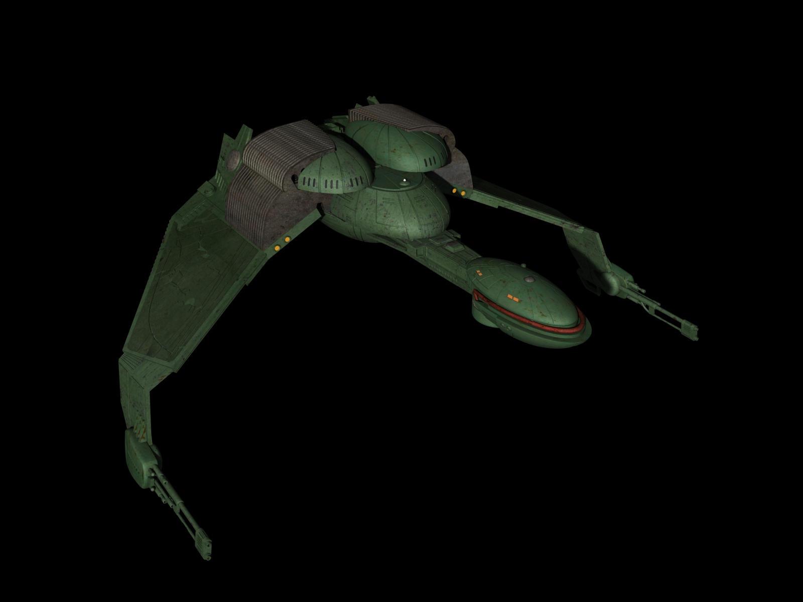 Klingon Bird of Prey by metlesitsfleetyards