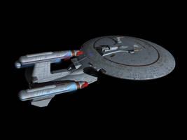 Galaxy-X Dreadnought by metlesitsfleetyards