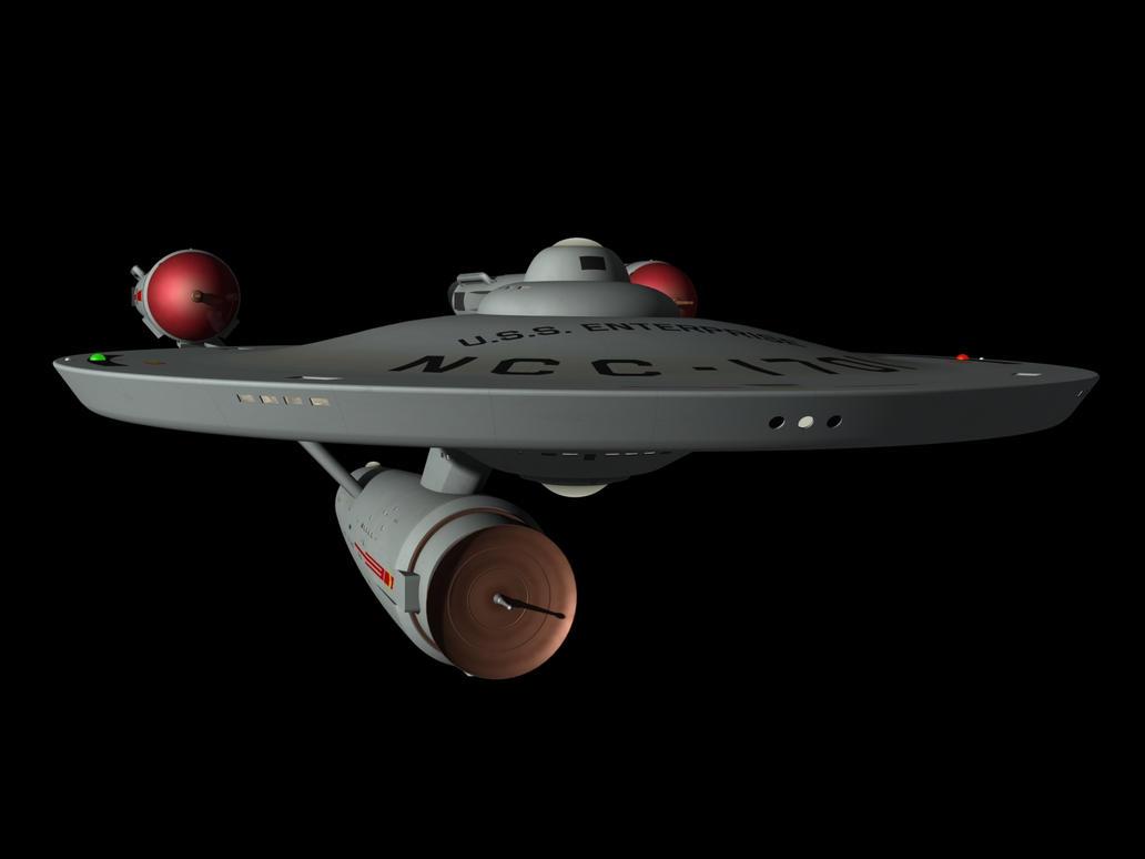 USS Enterprise 2nd Pilot by metlesitsfleetyards