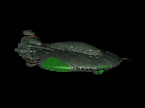 Tellarite cruiser